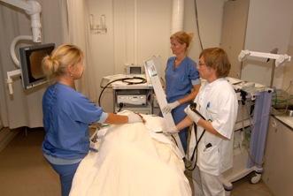 De behandeling van een Barrett slokdarm op afdeling endoscopie.