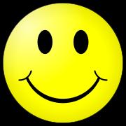 schilderij: IJssellandertjes houden trots hun smiley vast