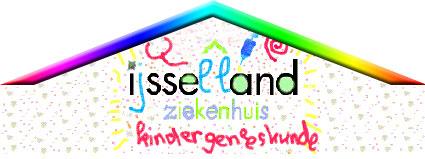 Het logo van de kinderafdeling